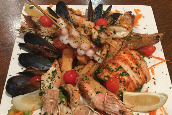 Riverside Kitchen & Events Seafood night